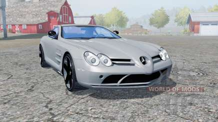 Mercedes-Benz SLR McLaren (C199) 2003 for Farming Simulator 2013