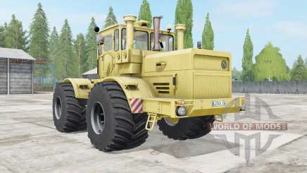 Kirovets K-700A soft yellow color for Farming Simulator 2017