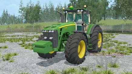 John Deere 8130 chateau green for Farming Simulator 2015