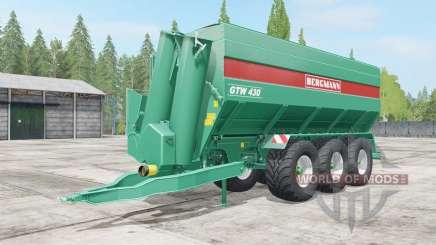 Bergmann GTW 430 wheel color selection for Farming Simulator 2017