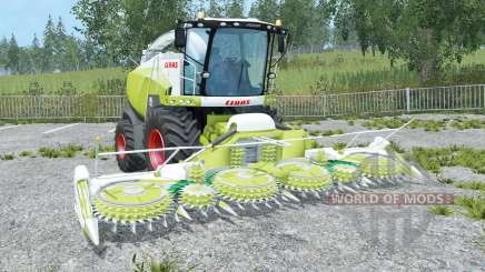 Claas Jaguar 870 android green for Farming Simulator 2015