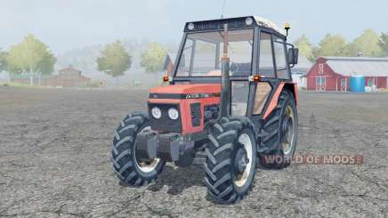 Zetor 7745 front loader for Farming Simulator 2013