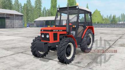 Zetor 6211-7245 configuration engine for Farming Simulator 2017