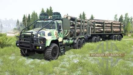 KrAZ-260 for MudRunner