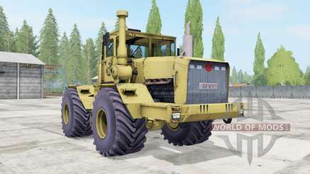 Kirovets K-701 soft yellow color for Farming Simulator 2017