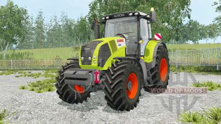 Claas Axion 850 foldable warning sign for Farming Simulator 2015