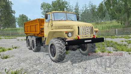 Ural-5557 dynamic exhaust for Farming Simulator 2015