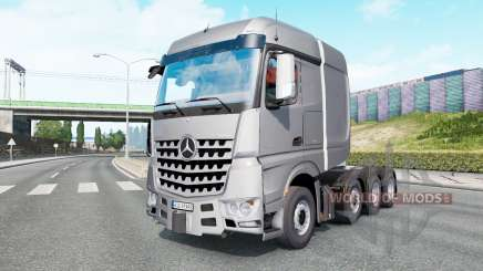 Mercedes-Benz Arocs SLT v1.5.5.1 for Euro Truck Simulator 2