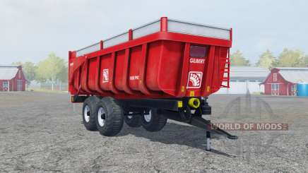 Gilibert 1800 Pro pigment red for Farming Simulator 2013