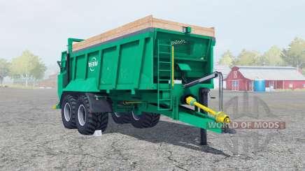 Tebbe HS 180 caribbean green for Farming Simulator 2013
