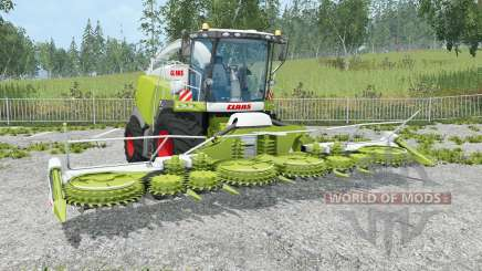 Claas Jaguar 980 change pipe for Farming Simulator 2015