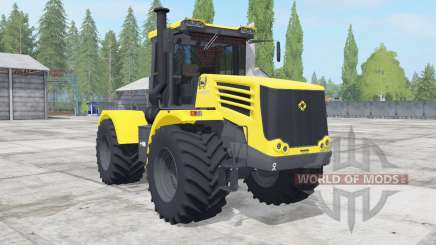 Kirovets K-744Р4 yellow color for Farming Simulator 2017