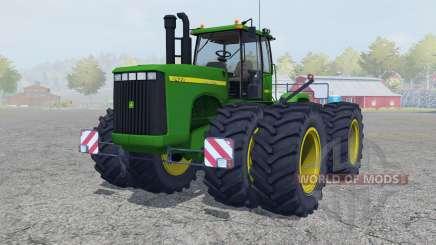 John Deere 9400 north texas green for Farming Simulator 2013