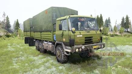 Tatra T815 VVN 20.235 6x6 for MudRunner