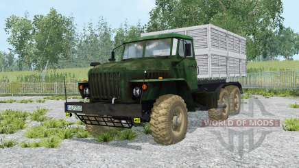 Ural-5557 and the trailer GKB-8350 for Farming Simulator 2015
