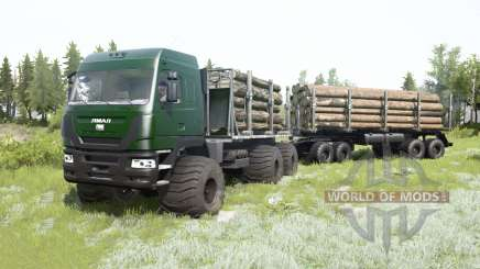 The Yamal-6 6x6 2013 for MudRunner