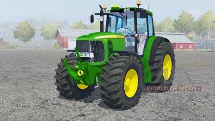 John Deere 7530 Premiuᶆ for Farming Simulator 2013