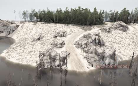 Sandy Island for Spintires MudRunner