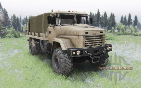 KrAZ-5131 for Spin Tires