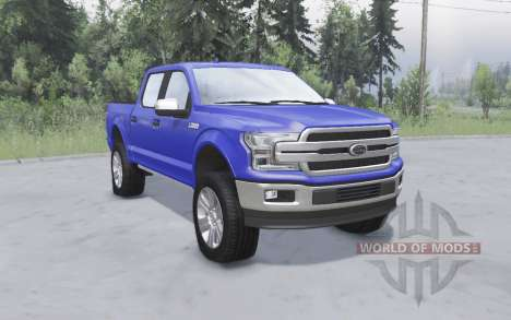 Ford F-150 for Spin Tires