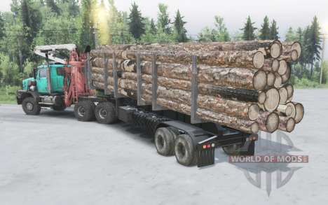Western Star 6900XD for Spin Tires