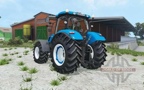 New Holland T6-series for Farming Simulator 2015