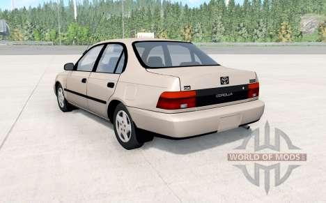 Toyota Corolla sedan 1993 for BeamNG Drive