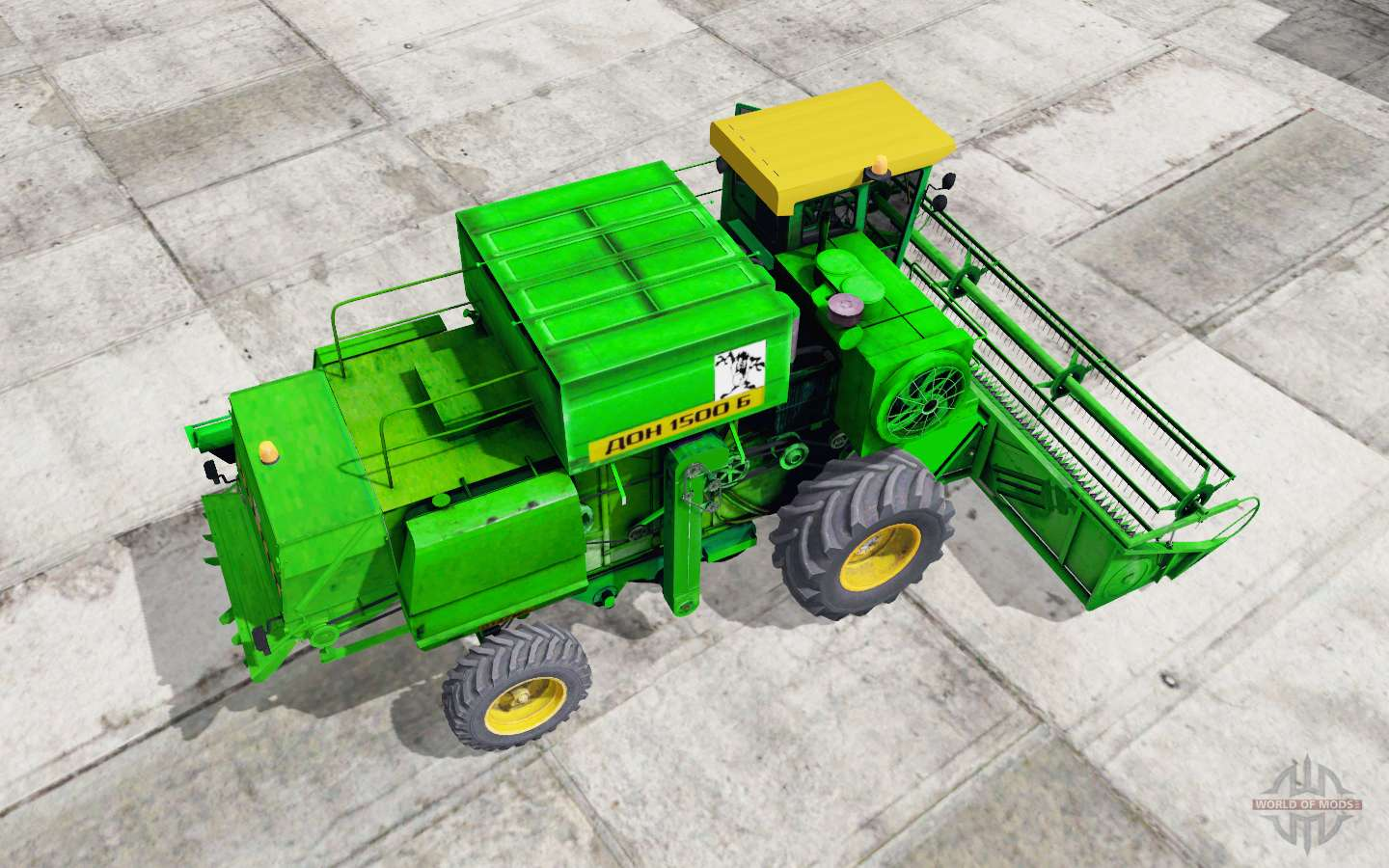 Don-1500B Light Green Okas For Farming Simulator 2017
