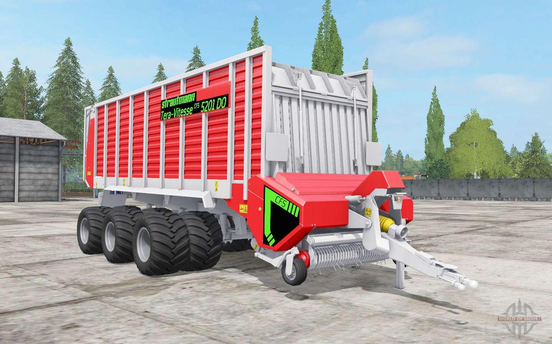 Strautmann Tera-Vitessᶒ CFS 5201 DO for Farming Simulator 2017