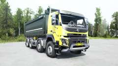 Volvo FMX 500 8x8 Day Cab tipper 2013 for MudRunner