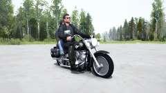 Harley-Davidson FLSTF Fat Boỿ for MudRunner