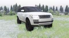Land Rover Range Rover SVA LWB (L405) 2017 for Spin Tires