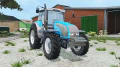Valtra T140 vivid sky blue for Farming Simulator 2015