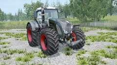 Fendt 936 Vario Black Beauty twin wheels for Farming Simulator 2015