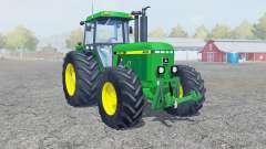 John Deere 4455 dark pastel green for Farming Simulator 2013