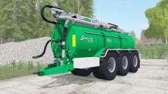 Samson PG II 27 caribbean green for Farming Simulator 2017