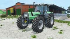 Deutz-Fahr AgroStar 6.81 caribbean green for Farming Simulator 2015