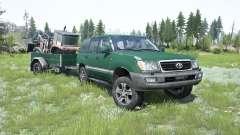Toyota Land Cruiser 100 VX 2005 for MudRunner