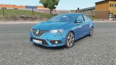 Renault Megane sedan 2017 for Euro Truck Simulator 2