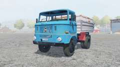 IFA W50 L process cyan for Farming Simulator 2013