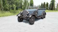 Mercedes-Beɳz G4 (W31) 1938 for MudRunner