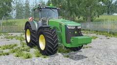 John Deere 8370R sea green for Farming Simulator 2015