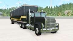 Gavril T-Series with trailer for BeamNG Drive
