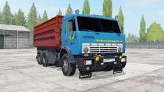 KamAZ-55102 with trailer GKB-8551 for Farming Simulator 2017