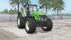 Massey Ferguson 8727-8740 large Terra tires for Farming Simulator 2017