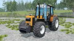 Renault 155.54 TX neon carrot for Farming Simulator 2015