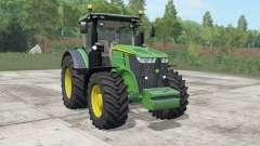 John Deere 7270R-7310R choice wheels for Farming Simulator 2017