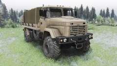 KrAZ-5131 for Spin Tires
