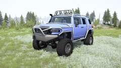 Toyota FJ Cruiser (GSJ15W) for MudRunner