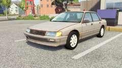 Ibishu Pessima 1988 rusty skin v0.1 for BeamNG Drive